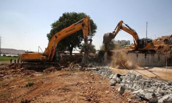 الاحتلال يهدم منزلا في رام الله وقرية العراقيب في النقب