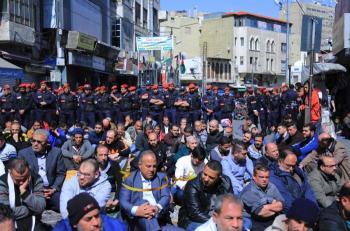 وسط البلد: مسيرات احتجاجية ضد رفع الأسعار
