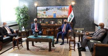 السفير العراقي يستقبل رئيس عمان العربيةلبحث التعاون الأكاديمي والبحثي