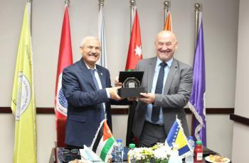 جامعةُ الأميرة سميّة توقّع اتفاقية للتعاون مع جامعة موستار البوسنية