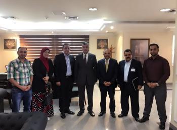 مجلس نقابة الجيولوجيين يلتقي وزيري الطاقة والعمل