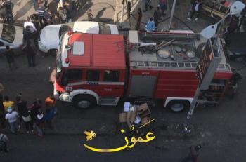 3 اصابات بحريق منزل في عجلون