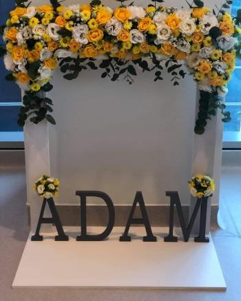 عامر حسن الدوايمة يرزق بآدم
