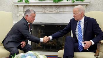 حليف قوي في جوار صعب ..  بايدن يؤكد الدعم الأميركي للأردن