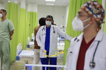 جولة لـ عمون داخل المستشفى الميداني العسكري في الزرقاء