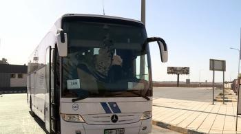 وصول 180 أردنيا عائدا من فلسطين