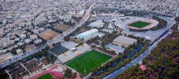حديقة مدينة الحسين للشباب مساحات خضراء للتنزه