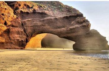 انهيار أشهر منظر طبيعي في المغرب (فيديو)