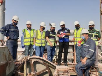 البوتاس تنهي بنجاح أعمال الصيانة الرئيسية لمصنع البلورة الباردة فيغور الصافي