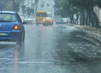 عدم استقرار جوي وزخات من المطر  ..  الاثنين