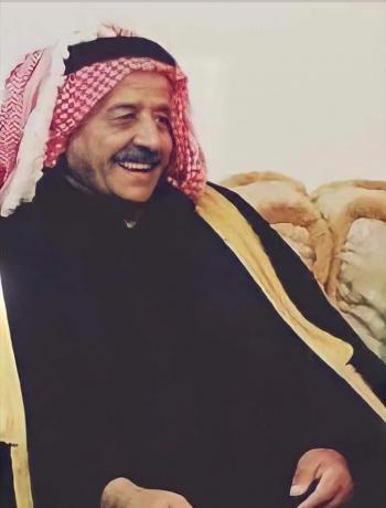 الحاج أيوب ابوعرابي العدوان ينعى الحاج منصور الطاهات