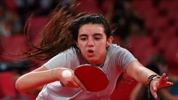 أولمبياد طوكيو ..  السورية ظاظا تتلقى دعوة خاصة من الصين