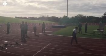 بالفيديو: معمرة هندية تفوز بالذهبية في مسابقة دولية للجري