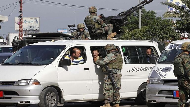 مقتل 13 إرهابيا في عملية أمنية شمالي لبنان