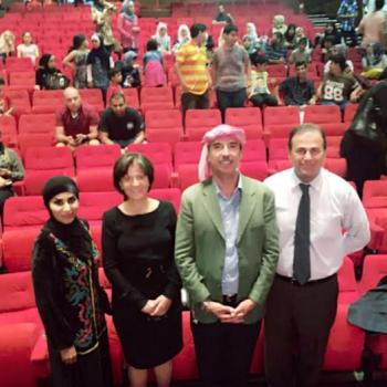 وزيرة السياحة ترعى مسرحية زعل وخضرة