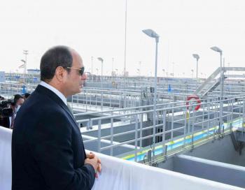 افتتاح أضخم محطة معالجة مياه عالمياً في مصر