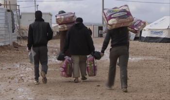 وفاة طفلين سوريين نتيجة البرد بمخيم الركبان