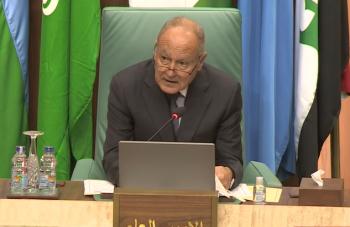 ابو الغيط: انصراف الفلسطينيين عن حل الدولتين ليس في صالح أحد