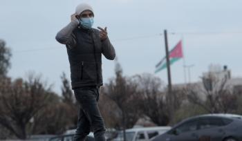 ارتفاع إصابات كورونا النشطة في الأردن إلى 8424