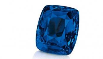 بيع حجر من نوع ياقوت كشمير الأزرق بـ2.7 مليون يورو