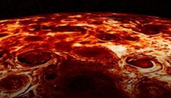 نظرية عمرها 142 عاما تفسر عواصف المشتري الغريبة