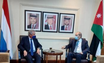 الصفدي يلتقي وزير خارجية لوكسمبورغ
