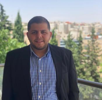 المهندس نواف حداد ..  مبارك التخرج
