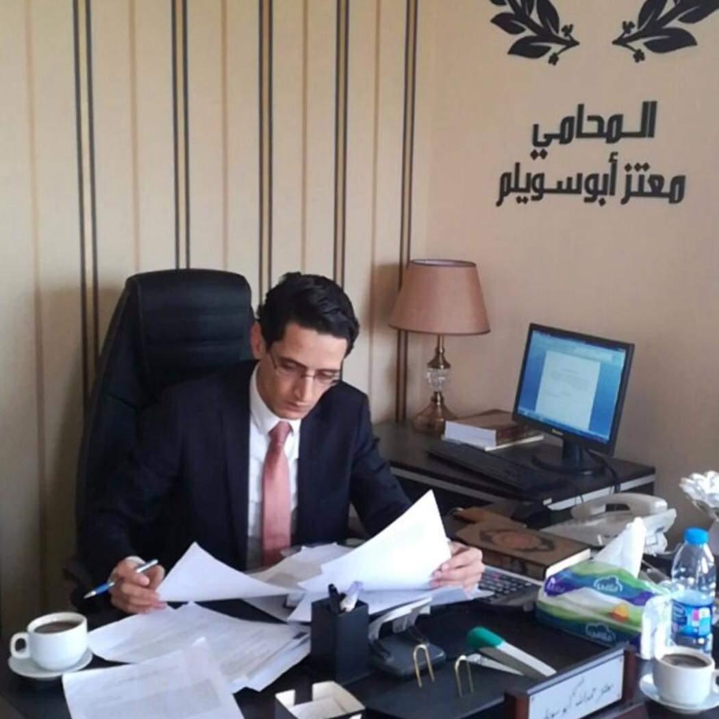 الأستاذ معتز أبو سويلم ..  مبارك