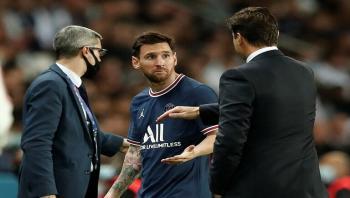 كشف موقف ميسي من المشاركة في مباراة مانشستر سيتي المرتقبة