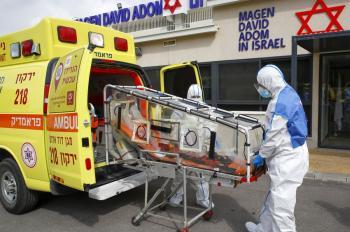 6 وفيات و 1035 اصابة جديدة بفيروس كورونا في اسرائيل
