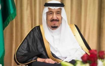 خادم الحرمين يدعو لعقد قمتين خليجية وعربية في مكة