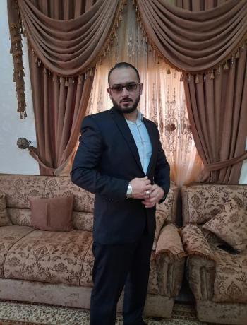 محمد أحمد الحياري ..  مبارك الماجستير