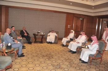 دودين يبحث التعاون الاعلامي مع السعودية ولبنان