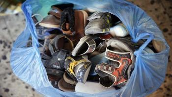 شركة كورية جنوبية تتبرع بأحذية وحقائب للاردن