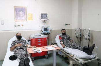 قوات الدرك تنفذ حملة للتبرع بالدم