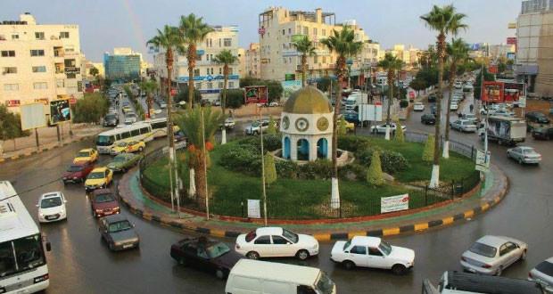 ازالة بسطات غير مرخصة في سوق دير ابي سعيد