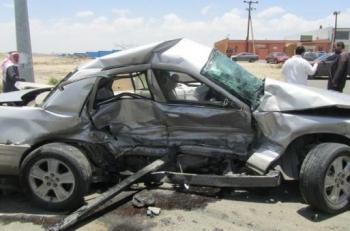 وفاة واصابة بتصادم في عمان