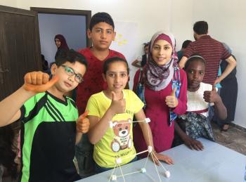 بيزورلد تطلق ورشة ريادية للأطفال في مخيم جرش