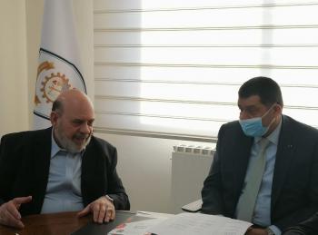 وزير العمل يلتقي الاتحاد العام لنقابات عمال الأردن