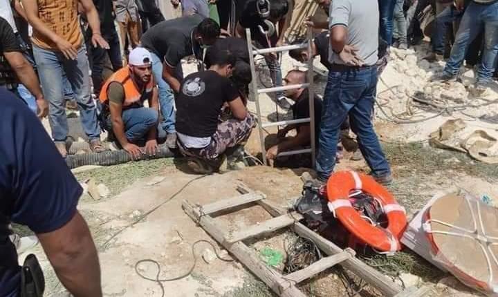 وفاة 5 أشخاص بعد سقوطهم بحفرة امتصاصية جنوب الخليل
