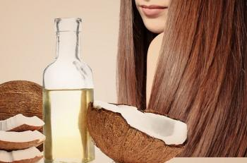 زيت جوز الهند لعلاج تقصف الشعر الجاف