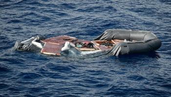 مصرع 43 مهاجرا بعد غرق قاربهم قبالة ساحل ليبيا