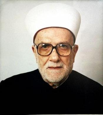 الذكرى السابعة عشر لوفاة الشيخ عبد الحميد السائح