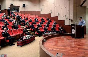 الحواتمة: تطوير عمل مراكز الأمن والدفاع المدني على سلم الأولويات