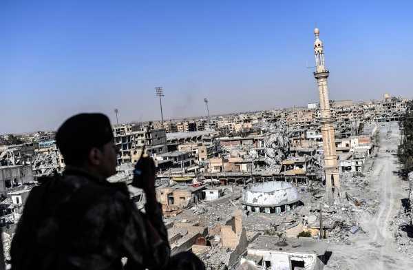 تحرير مدينة الرقة من داعش