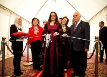 الأميرة رحمة تفتتح بازار ومعرض الجاليات في عمان الأهلية