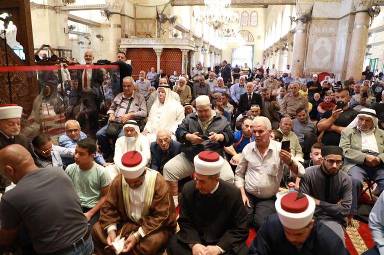 60 ألف مصل يحيون ذكرى المولد النبوي بالمسجد الأقصى