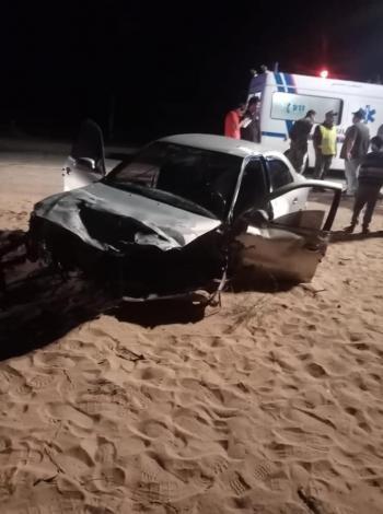 وفاة و8 إصابات بحادث تصادم في العقبة (صور)