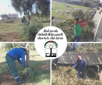 حملة لادامة نظافة سحاب وجماليتها