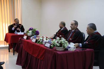 رسالة ماجستير في حقوق  الشرق الأوسط حول القانون الدولي المعاصر وأزمة الدولة